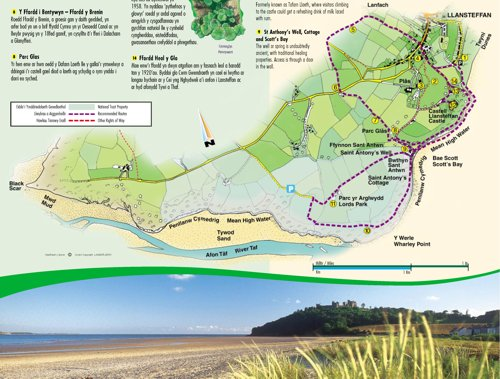Download the Llansteffan Walks Map Here